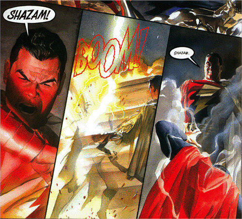 Superman vs Shazam