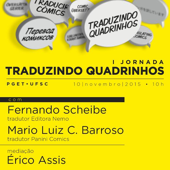 I Jornada Traduzindo Quadrinhos