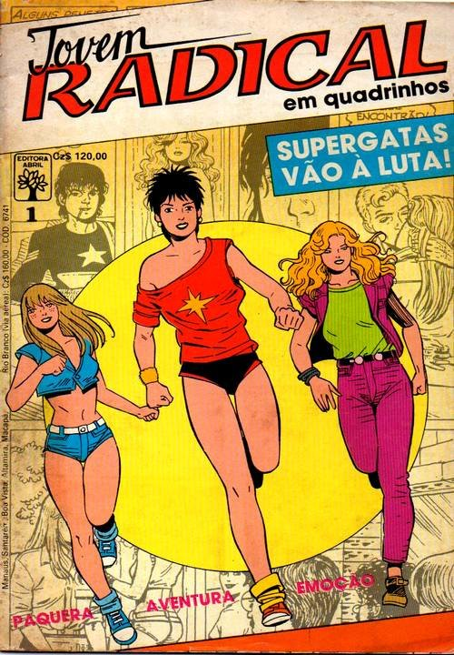 Jovem Radical em quadrinhos