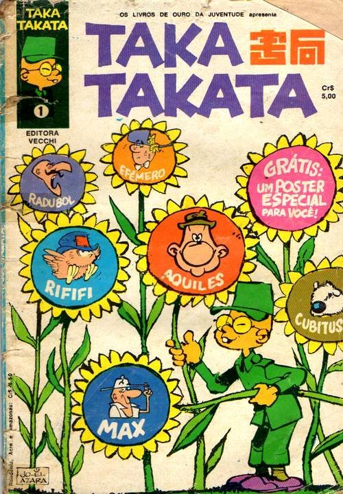 Os Livros de Ouro da Juventude Apresenta - Taka Takata # 1
