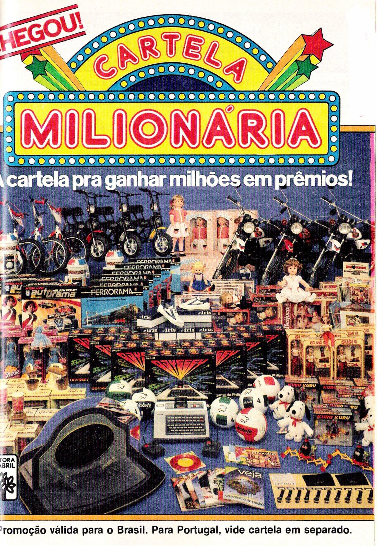 Cartela Milionária