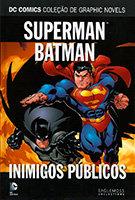 DC Comics Coleção de Graphic Novels - Superman / Batman - Inimigos Públicos
