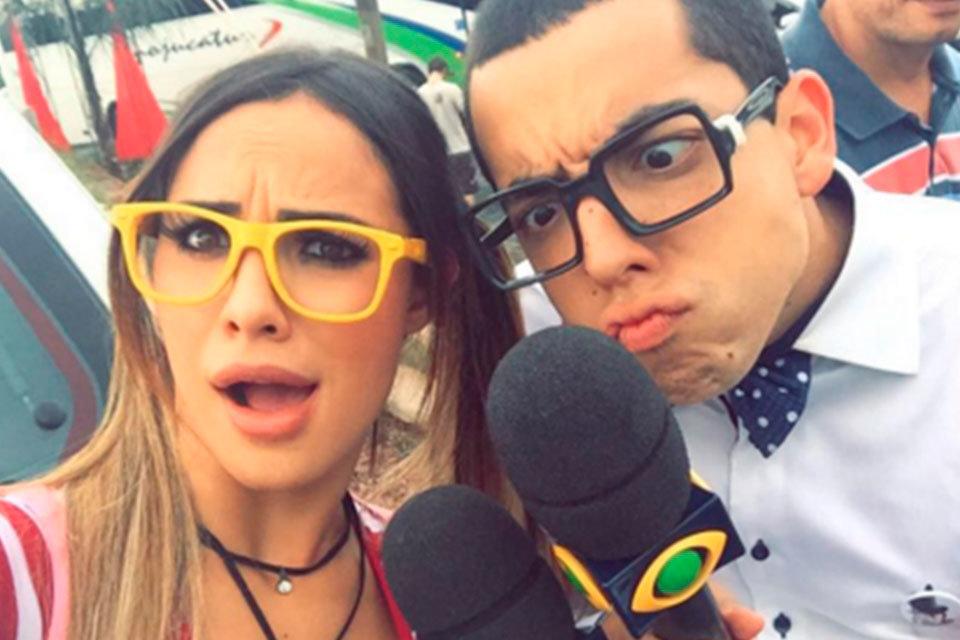 Lucas Selfie e Aline Mineiro