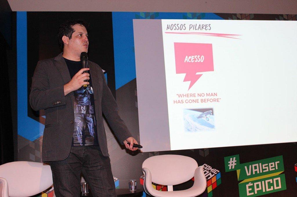 Marcelo Bouhid, gerente de marketing do Social Comics