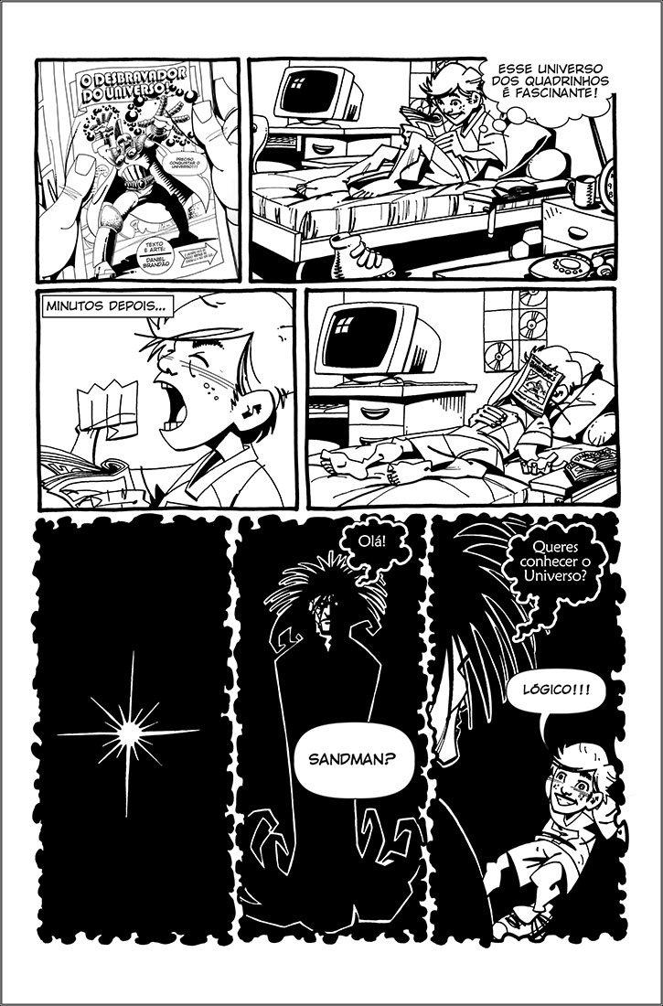 O desbravador do universo! - Página 2