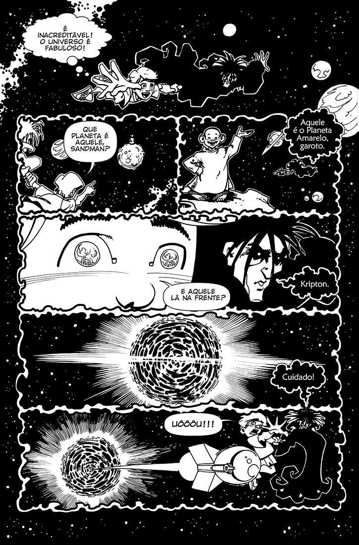 O desbravador do universo! - Página 3