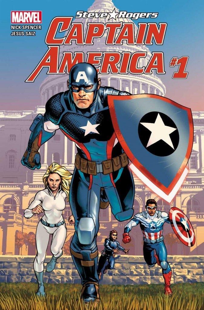 Steve Rogers - Captain America # 1