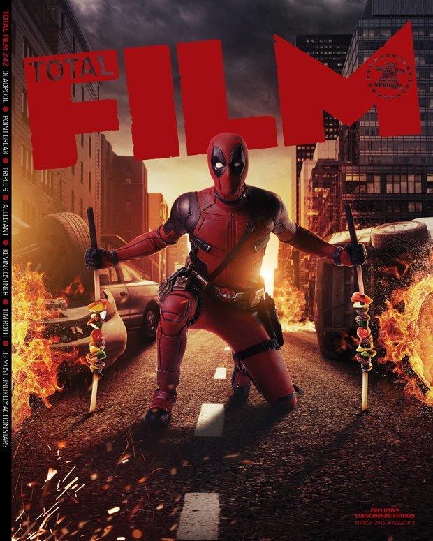 Deadpool é capa da revista Total Film