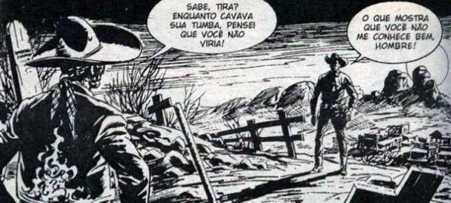 Duelo entre Tex e El Muerto