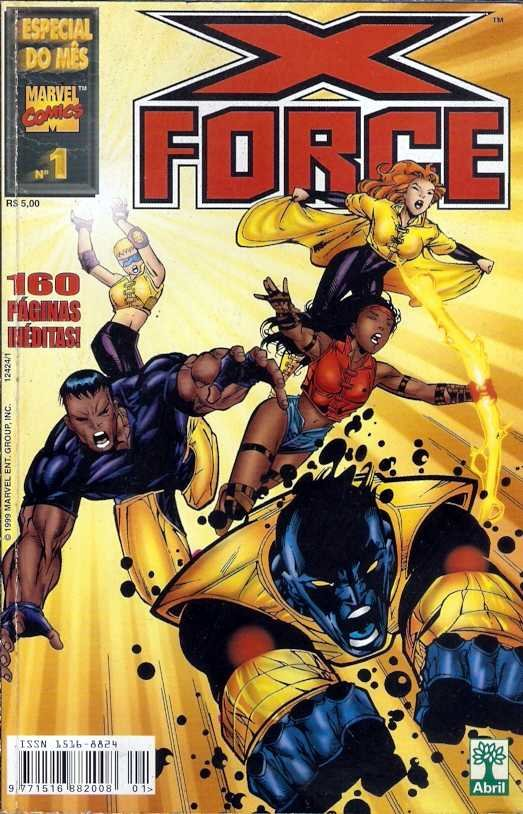 Especial do Mês 1 - X-Force