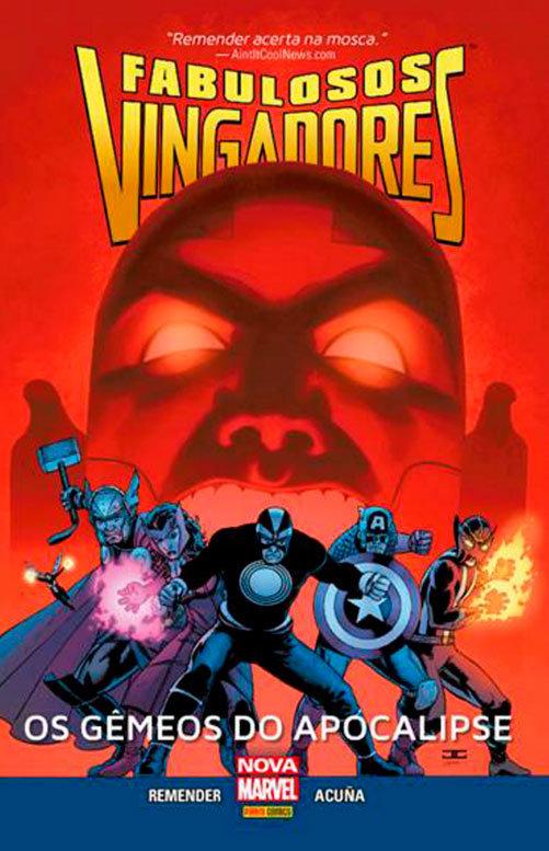 Fabulosos Vingadores - Os gêmeos do apocalipse