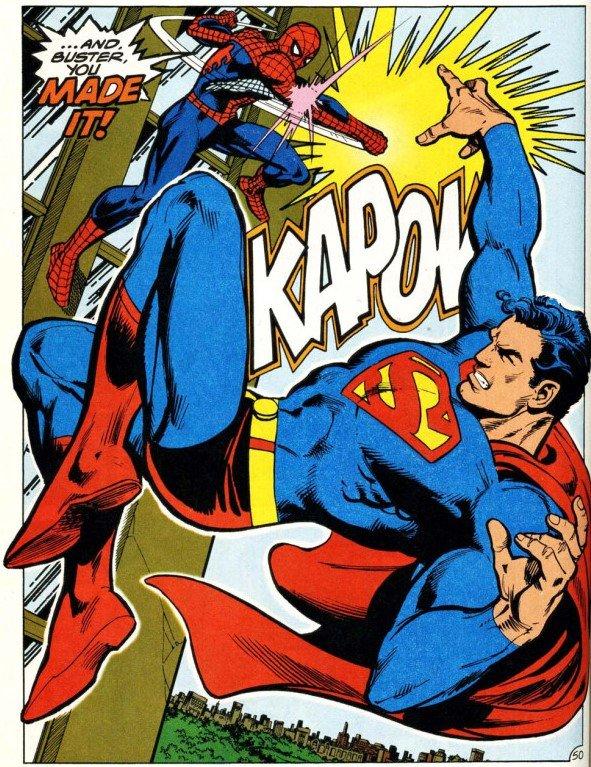 Homem-Aranha enfrenta o Superman