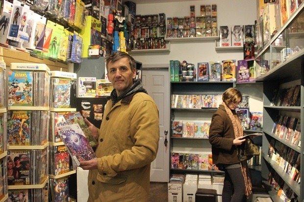 The Den Comics