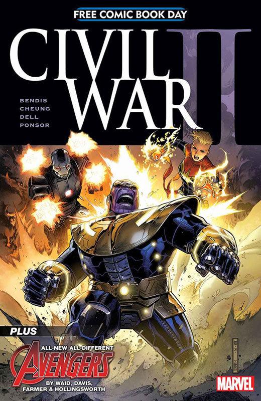 Civil War II - Free Comic Book Day