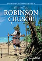 Clássicos da Literatura em Quadrinhos # 10 - Robin Crusoé