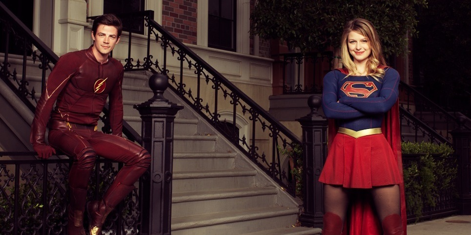 Flash e Supergirl