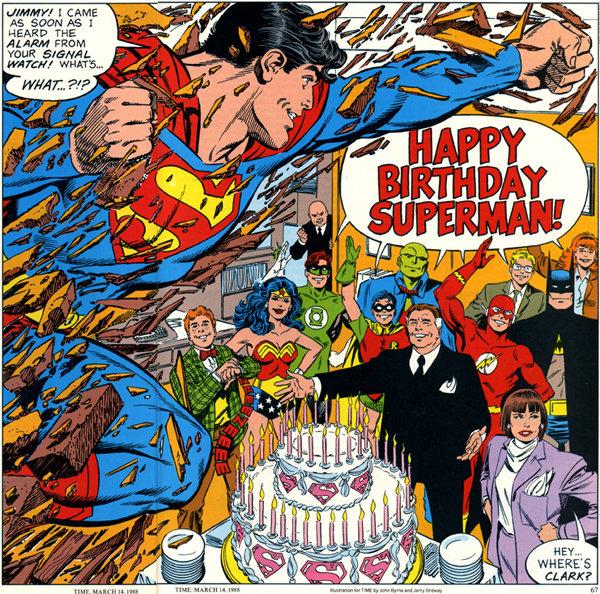 Aniversário do Superman