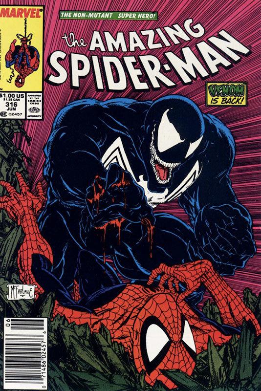 Capa de The Amazing Spiderman # 316