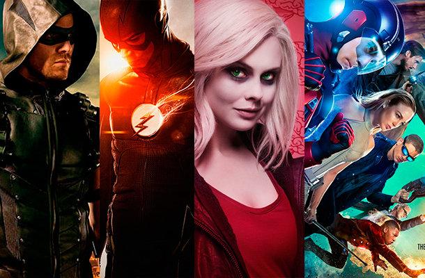 Arrow, The Flash, iZombie e DC's Legends of Tomorrow