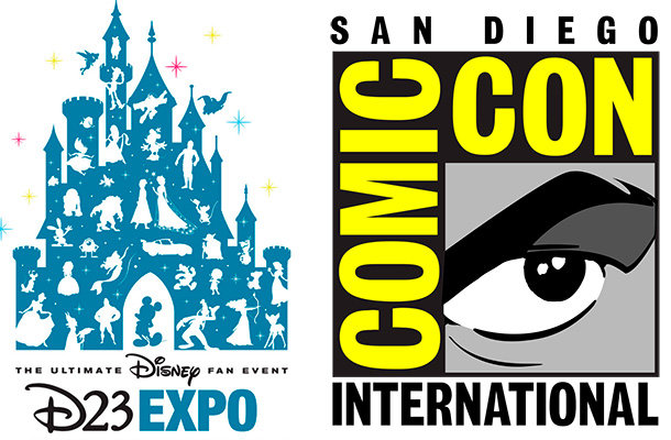 D23 Expo vs. San Diego Comic Con