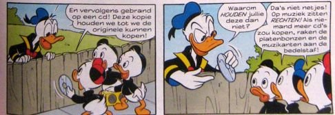 Donald e sobrinhos