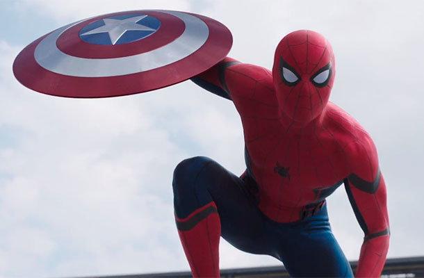 Homem-Aranha em Capitão América - Guerra Civil