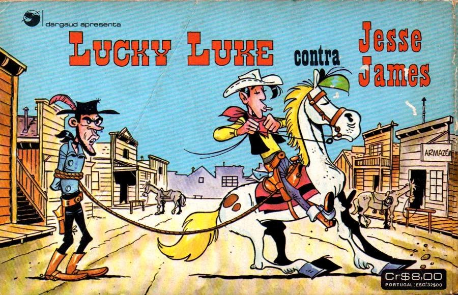 Lucky Luke contra Jesse James