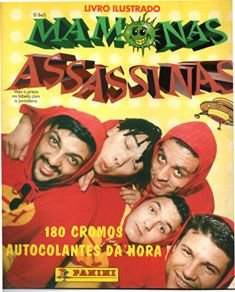Livro Ilustrado Mamonas Assassinas