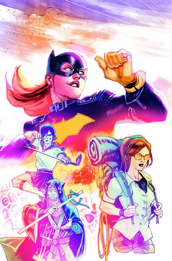 Arte de Rafael Albuquerque para a nova revista da Batgirl