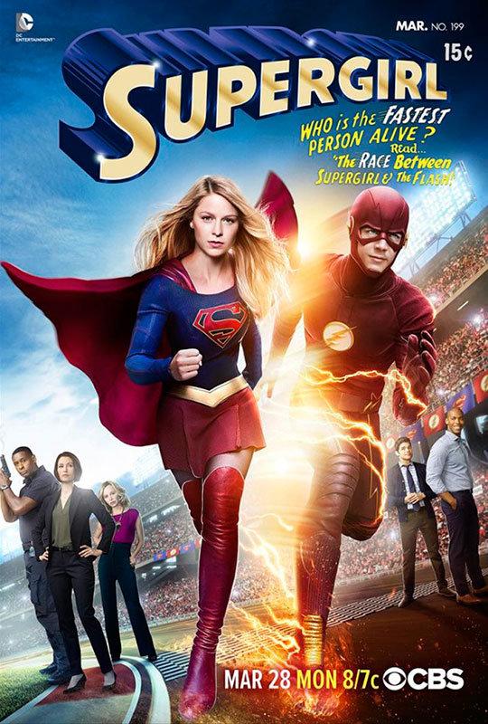 Supergirl e Flash crossover