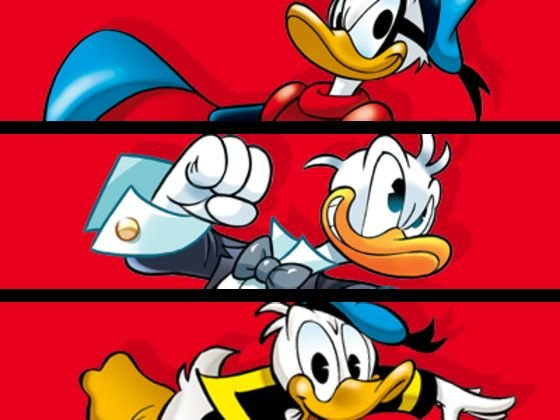 Crossover Pato Donald