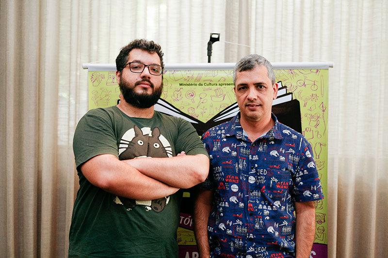 Eduardo Damasceno e Afonso Andrade