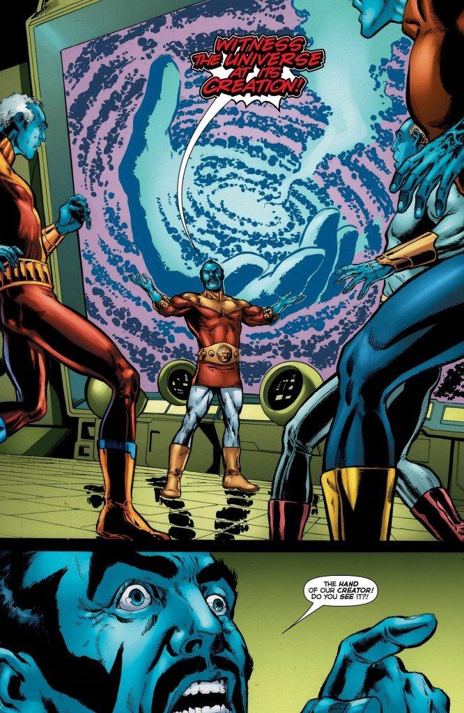 Krona e a criação do Universo DC