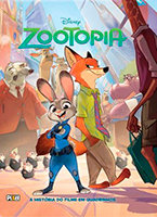 A História do Filme em Quadrinhos - Zootopia