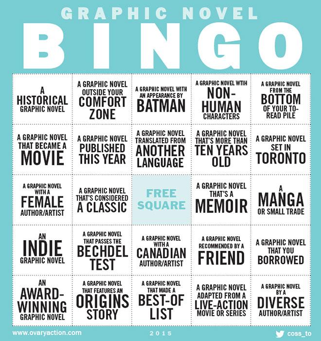 Comic Bingo