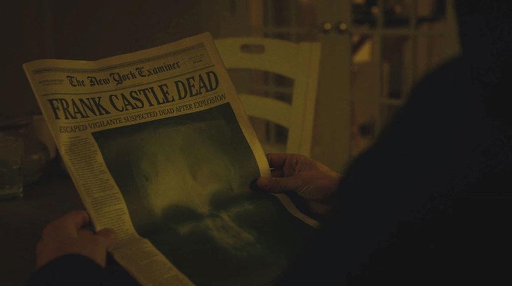 Frank Castle Dead