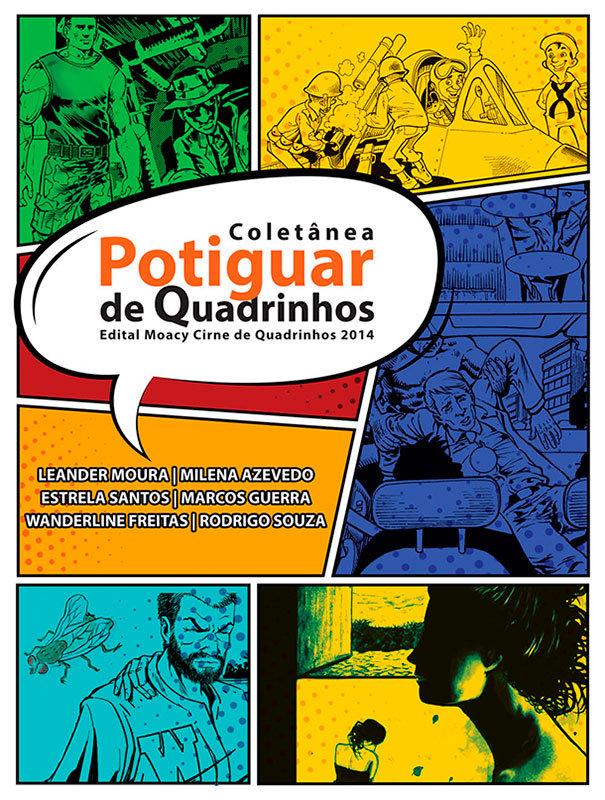 Resultado de imagem para COLETÂNEA POTIGUAR DE QUADRINHOS
