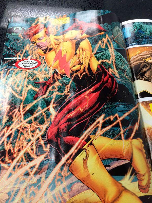 Página de DC Universe - Rebirth