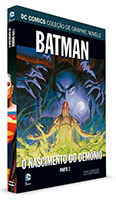 DC Comics Coleção de Graphic Novels - Batman - O Nascimento do Demônio - Parte 1
