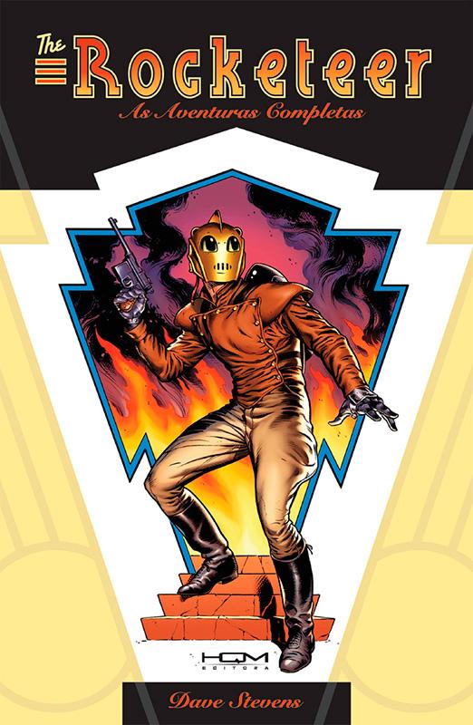 The Rocketeer - As aventuras completas (capa cartonada)